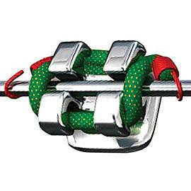 O-ring metal braces